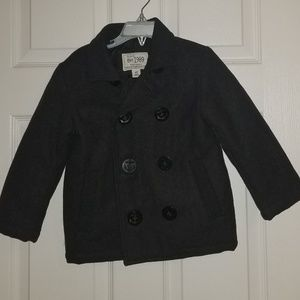 Toddler boys peacoat